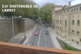 El Ayuntamiento presenta el anteproyecto del Eje Sostenible de Labrit con carril-bici