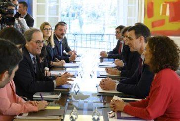 Sánchez celebra la primera reunión de la mesa de diálogo con los independentistas
