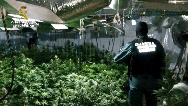 Desarticulada una organización delictiva internacional dedicada al tráfico de drogas