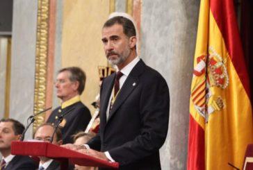 El Rey Felipe VI inaugura  la XIV legislatura con Podemos en el Gobierno y la ausencia de independentistas