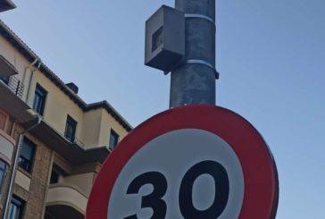 El Ayuntamiento de Pamplona ha instalado 7 aforadores de tráfico con lectores de matrícula
