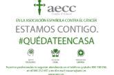 La AECC alerta de emergencia en cáncer por la crisis del coronavirus