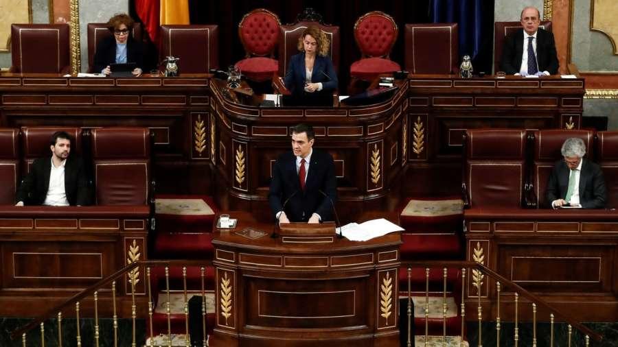 Un Congreso vacío aprueba prorrogar el estado de alarma hasta el 11 de abril