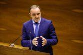 Esparza (NA+) pide a Chivite que tome sus decisiones contra el coronavirus