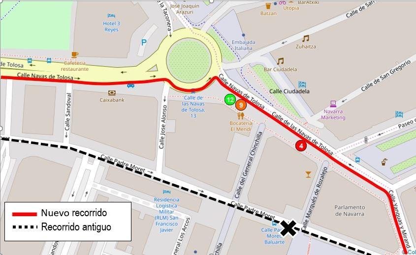 Modificación de las líneas del Transporte Urbano Comarcal