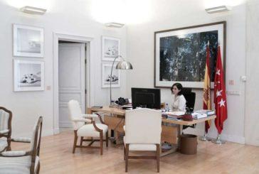 Díaz Ayuso arremete contra la medida del Gobierno de prohibir los despidos