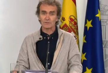Cifra récord de muertos diarios por coronavirus en España, 832 en un solo día