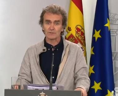 España roza los 40.00 contagiados, 5.400 sanitarios, y supera los 500 muertes en un día por coronavirus