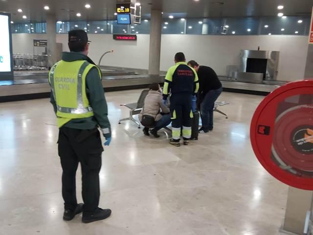 Coronavirus. La Guardia Civil presta apoyo al transporte de material para trasplantes
