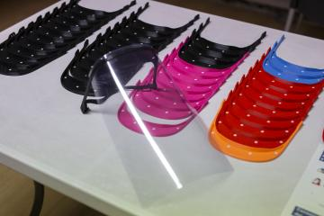 Pamplona se suma al grupo de impresión 3D de Navarra que prepara material de protección