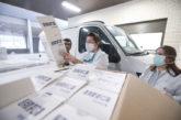 Material de protección contra el coronavirus recibido en Navarra