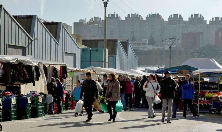 El domingo reabre el popular mercadillo pamplonés de Landaben