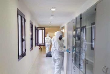 La UME realiza hoy labores de desinfección en Pamplona, Fitero y Sangüesa