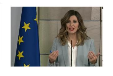 Más de medio millón de parados en España en abril, sin afectados por ERTE y autónomos