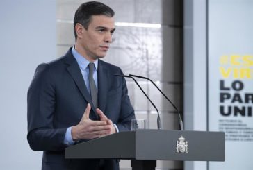 Sánchez levantará la restricción de la actividad económica no esencial después de Semana Santa