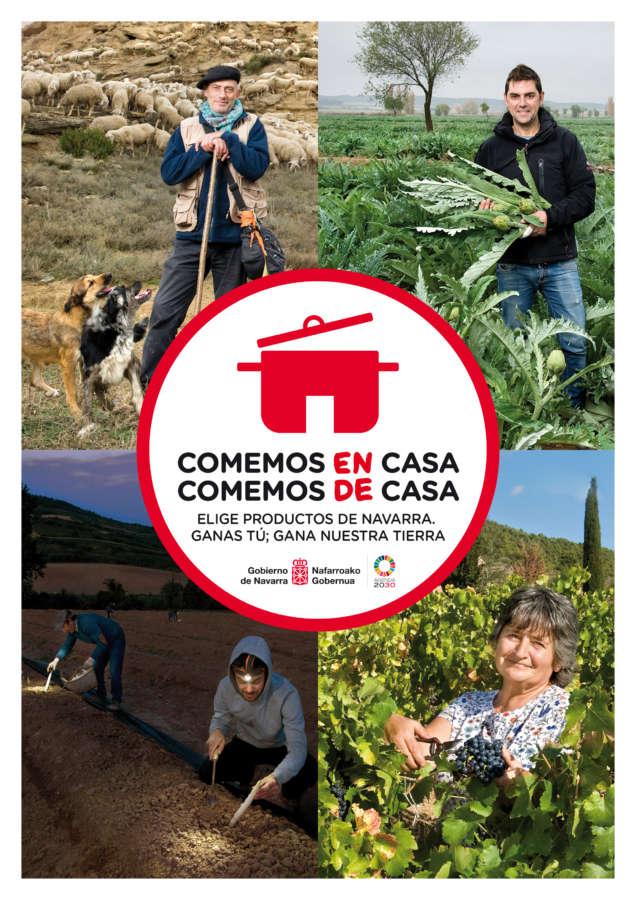 3 millones de euros para apoyar al sector agroalimentario de Navarra en la crisis del coronavirus