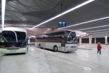 El número de usuarios de transporte publico cayó en abril un 91,4 %