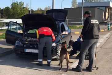 Denunciados por trasladarse a Pamplona a una fiesta y portar drogas en estado de alarma por coronavirus