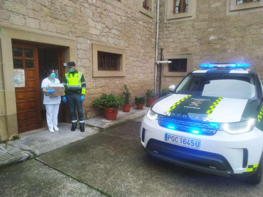 Balance de las actuaciones realizadas por la Guardia Civil de Navarra durante la Semana Santa