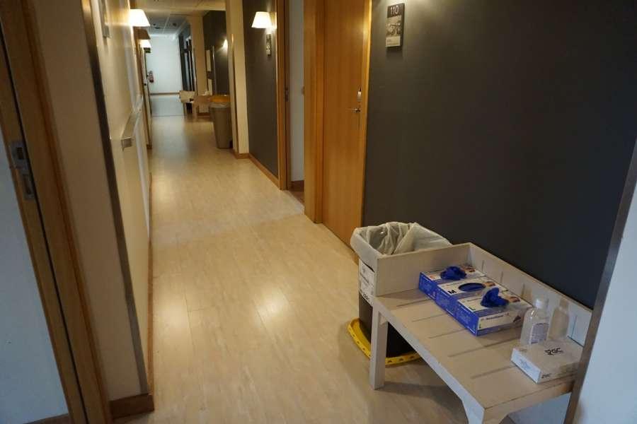 Tudela inicia el traslado de pacientes positivos en Coronavirus al hotel BED4U