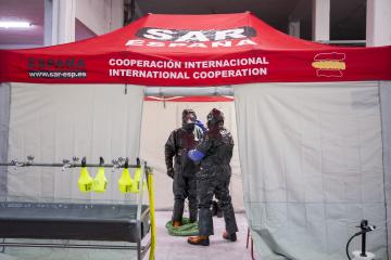 Trabajadores del Ayuntamiento pamplonés se forman para colaborar en la desinfección de edificios