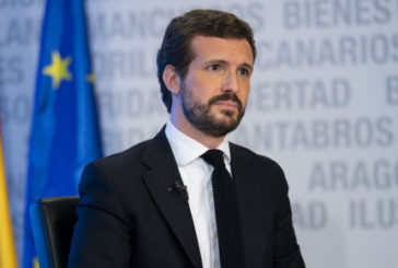 Casado critica a Sánchez por dar a nacionalistas