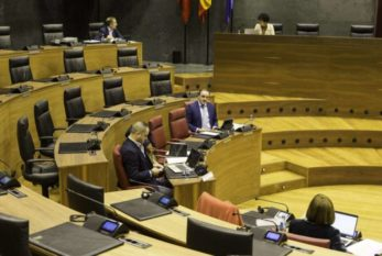 Se admite a trámite el proyecto de Presupuestos Generales de Navarra 2021
