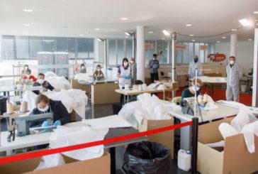 Coronavirus: Salud recibirá 600 batas de protección diarias cosidas por personas voluntarias en Refena