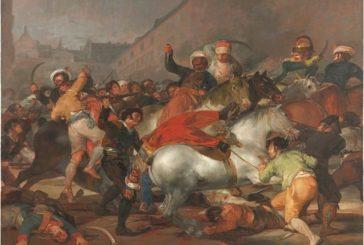 Rebelión en Madrid. El ejército francés atacado.