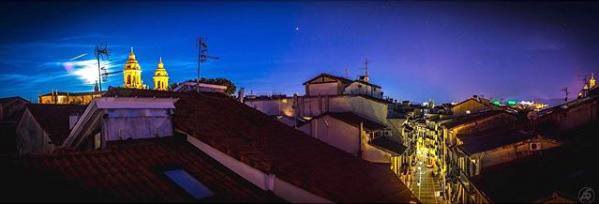 'Vivo en mitad de la historia de Navarra…', foto ganadora del concurso #PamplonaDesdeMiVentana