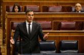 Sánchez mantiene los seis meses de estado de alarma pero propone una revisión en marzo