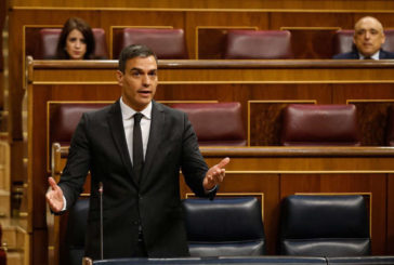 Sánchez afirma que el programa del Ejecutivo para la legislatura