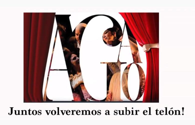 Vídeo.- AGAO se une al coro de voces del mundo de la Cultura