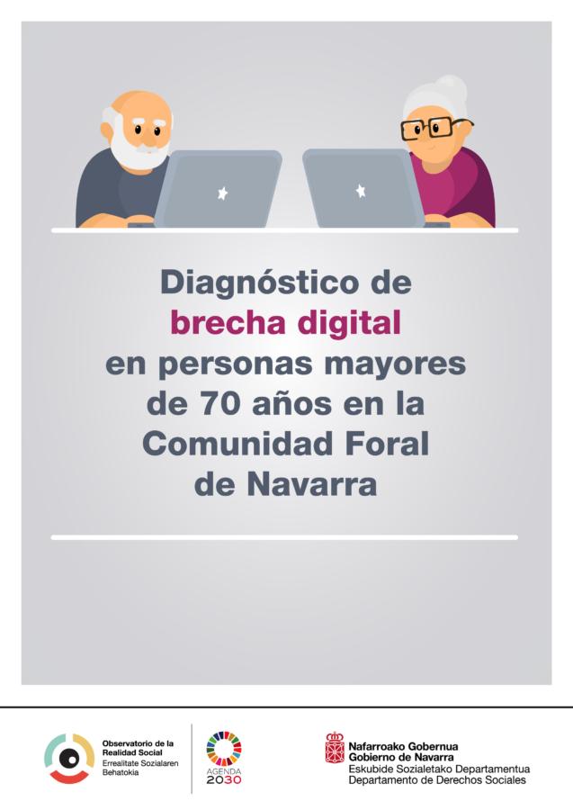 El 51% de los mayores de 64 años de Navarra acceden a diario a Internet, baja al 7,2% en los mayores de 74