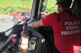 Inmovilizados 3 camiones por positivo en drogas en la N-121 A