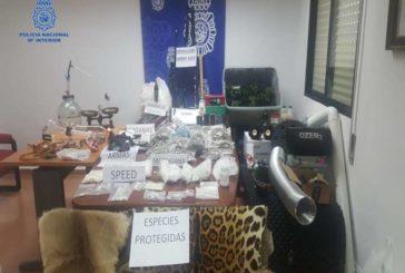 Policía nacional desmantela 2 puntos de droga en Tudela