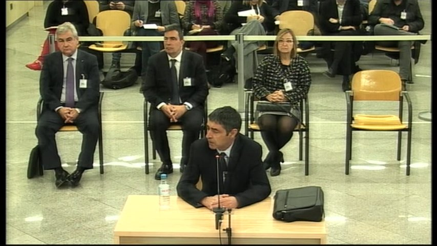 La Audiencia Nacional reanuda el 8 de junio el juicio a la excúpula de los Mozos de Escuadra