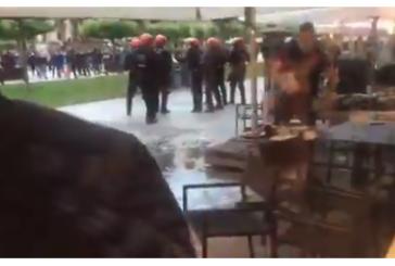 Defensores del etarra Patxi Ruíz provocan enfrentamientos con la Policía en Pamplona