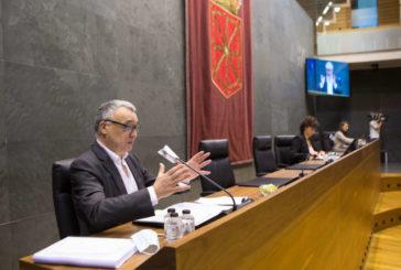 El Defensor del Pueblo presenta el Informe anual 2019 en la Comisión de Régimen Foral