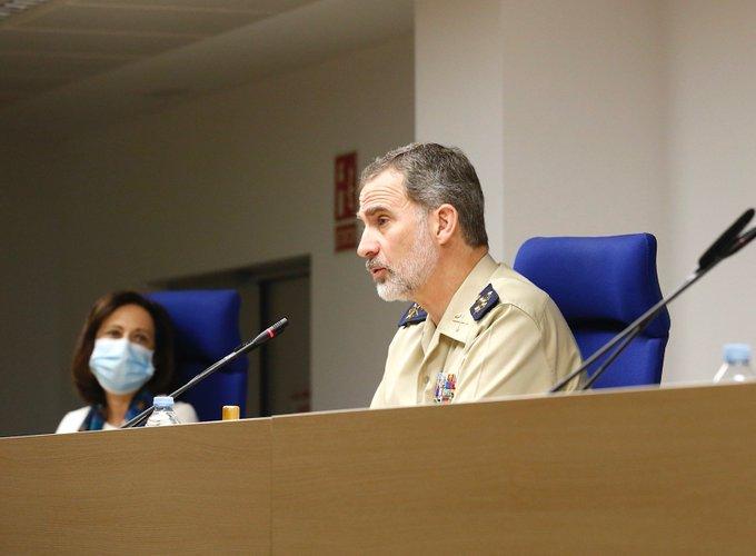 """Felipe VI en el día del Ejército: """"Somos un gran país que encara siempre de frente las dificultades"""""""