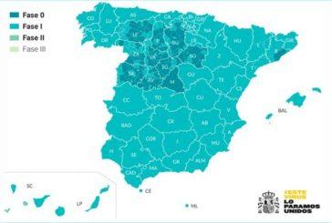 Madrid, Barcelona y la mitad de Castilla y León seguirán en Fase 0