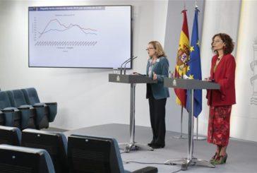 La economía española se hundirá un 9,2% y el déficit aumentará al 10,34%, según el Gobierno