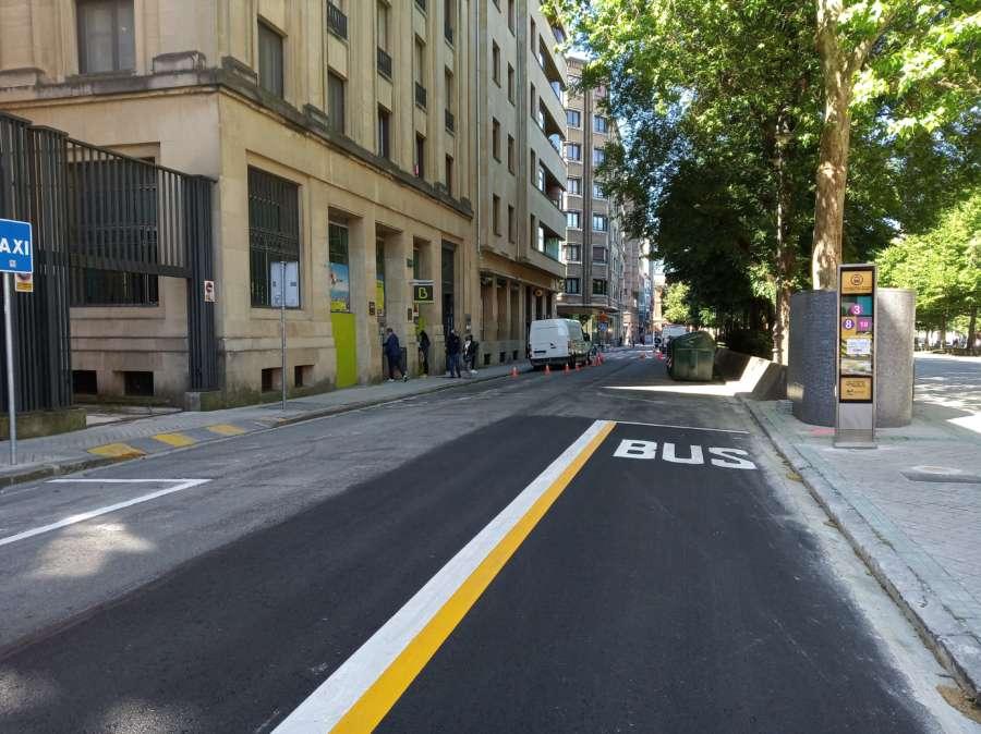 Pamplona somterá a estudio la posibilidad de que los domingos no circulen coches por la ciudad