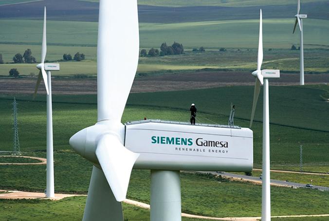 PSOE y Geroa Bai expresa su solidaridad con los trabajadores de Siemens Gamesa en Aóiz