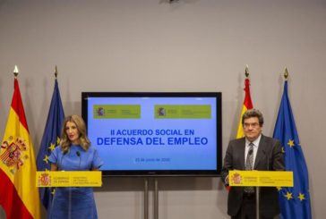 Gobierno y agentes sociales pactan extender los ERTE hasta septiembre