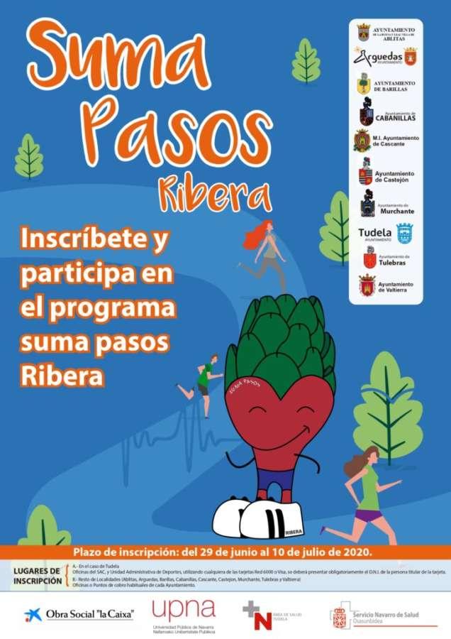 Se reanuda el programa Suma Pasos Ribera para reducir el sedentarismo entre la población de la zona