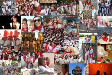 La iniciativa para reunir imágenes de Sanfermines para la campaña #LosViviremos recopila en sus primeros días más de 600 instantáneas