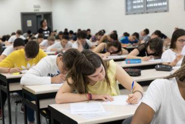Un total de 3.815 estudiantes se examinan de la EvAU del 23 al 26 de junio
