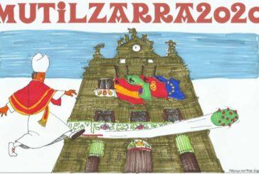 La Peña Multizarra presenta su pancarta 2020 que expondrá como
