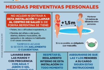 Más de 320 piscinas de uso público y comunitario se regirán por las normas del Instituto de Salud Pública de Navarra